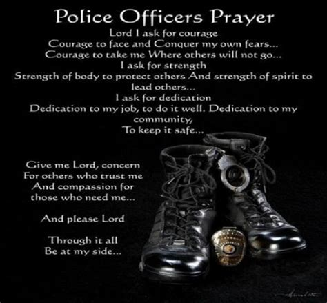 Prayers For Officers by Officer S Prayer Misc Stuff