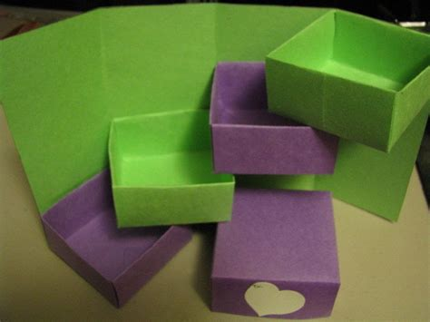 Origami Magic Box - magic box 183 an origami box 183 paper folding on cut out