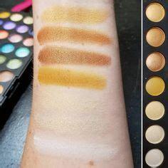 La Matte Eyeshadow Palette Brown Tweed swatches of the new la colors matte eyeshadow palette in
