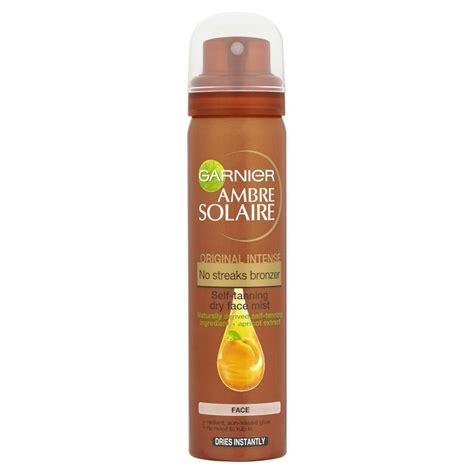 garnier ambre solaire no streaks bronzer mist spray original 75ml free shipping