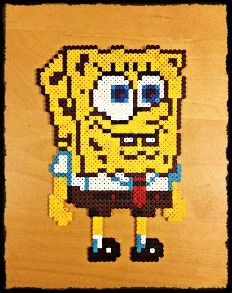 perler spongebob 17 best images about spongebob on o