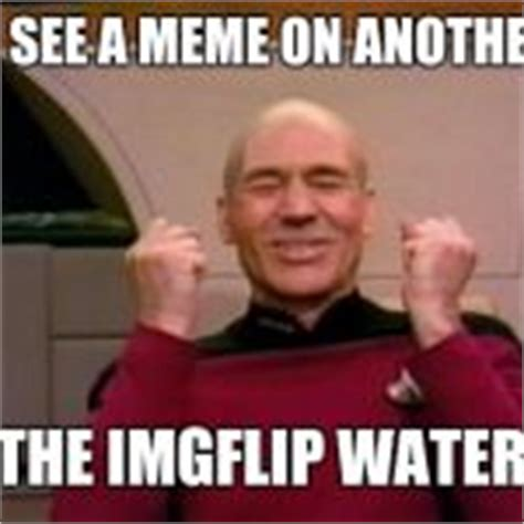 Picard Meme Generator - excited picard meme generator imgflip