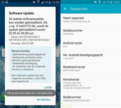 Mei Galaxy Note 4 galaxy note 4 en note edge updates brengen mei security