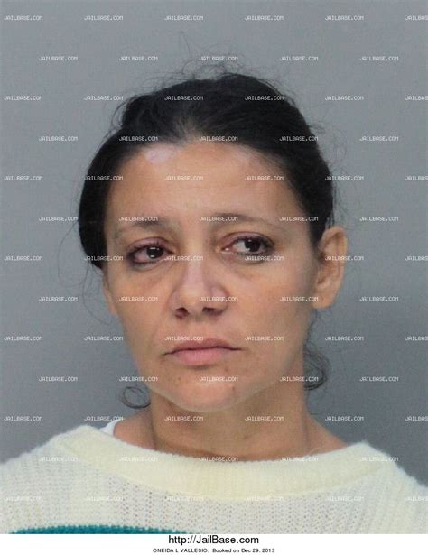 Oneida County Records Oneida L Vallesio Arrest History