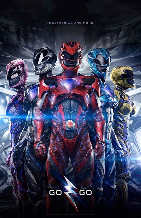 Poster Blue Ranger Hiasan Dinding new power rangers poster is booted suited mymbuzz