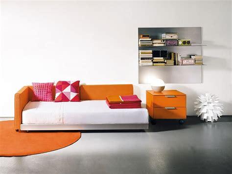 Single Bett by Schlafsofa In Modernem Stil F 252 R Den Wohnbereich Idfdesign