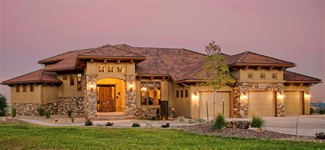 tuscany style homes tuscany homes colorado