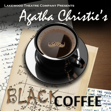 libro black coffee poirot how do you like your coffee agatha christie s black coffee opens friday at lakewood theatre