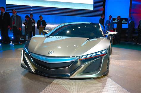 honda supercar concept honda nsx hybrid supercar previewed by detroit concept