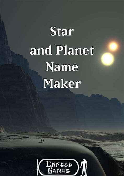 Planet Name Generator by And Planet Name Maker Ennead Generators