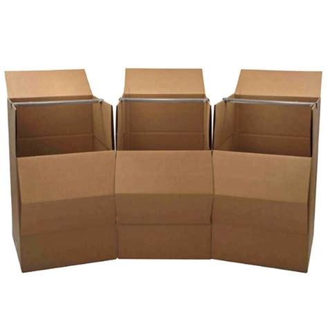 wardrobe moving boxes 3 pack free shipping