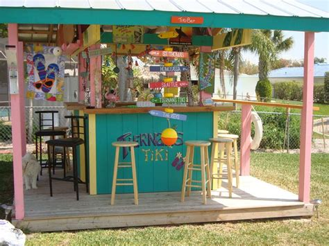 themed patio decor best 25 tiki bars ideas on outdoor tiki bar