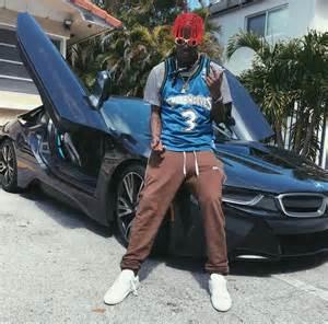 Lil Boosie Bentley Tyga Hops In With Jenner Wearing Bikkembergs