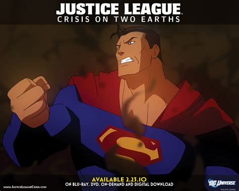 justice league crisis on two earths 2010 film online justice league crisis on two earths previews interview