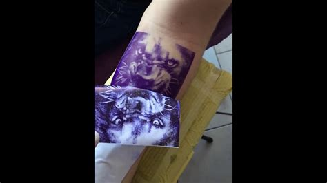 best tattoo stencil printer perfect stencil by thermal printer brother 662 youtube