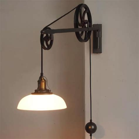 pulley light chester deco pulley wall light tudo co tudo and co
