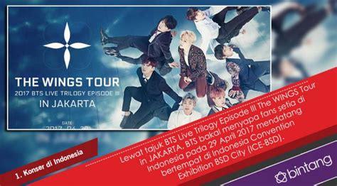 bts konser di indonesia sederet fakta konser bts di indonesia celeb bintang com