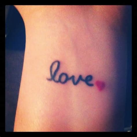 red heart tattoo on wrist www pixshark images