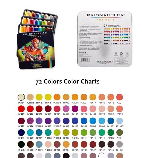 72 colored pencils 72 colors prismacolor premier colored pencils sets soft