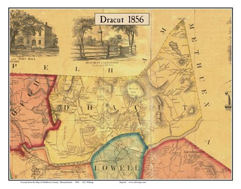 map lowell ma maps of middlesex county ma