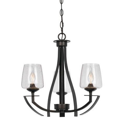 Black 3 Light Chandelier Cal Lighting 3 Light Hardwire Ceiling Mount Organic Black Chandelier Fx 3550 3 The Home Depot