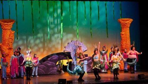 kitchen theatre little mermaid set ideas pinterest the little mermaid jr set fresnobeehive theater review