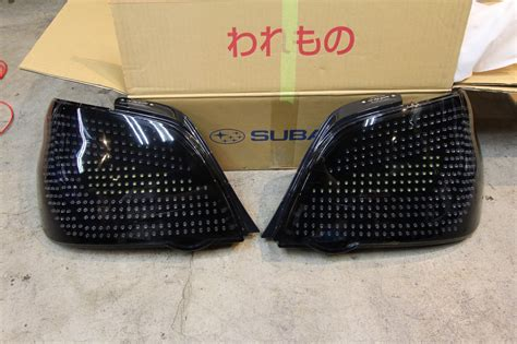 custom led tail lights for cars car shop glow subaru impreza gda gdb custom led tail