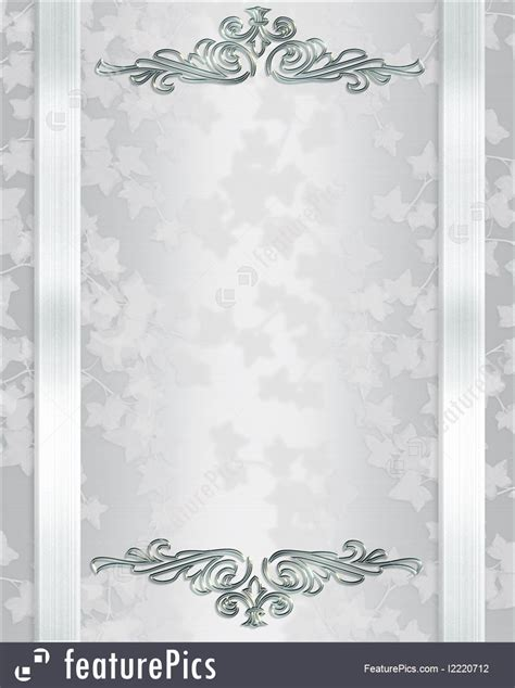Templates: Wedding Invitation Background Elegant   Stock Illustration I2220712 at FeaturePics