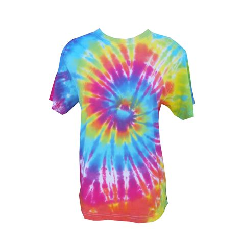 colorful shirts tie dye colourful rainbow mixed swirl t shirt