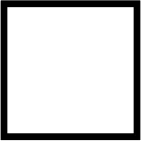 Black Outline Square by Black Square Outline Pictures To Pin On Pinsdaddy