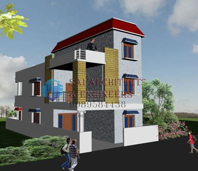 combined house multiplex sae 3d views funiture plans and interiors