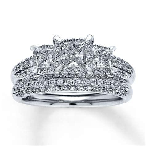 Bridal Sets by Bridal Sets Princess Cut Bridal Sets Wedding Rings White Gold