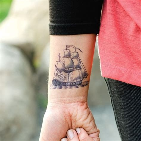 small ship tattoo designs nautical tattoos on ship tattoos shell