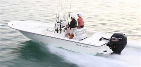 sea born boat construction fx22 bay bay boats center consoles offshore boats