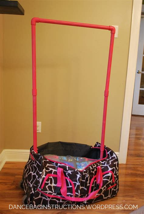 Make Your Own Garment Rack by How To Make Your Own Rolling Bag With Garment Rack