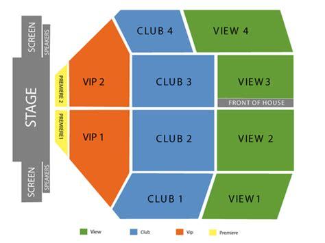 emerald casino seating chart events in tacoma wa