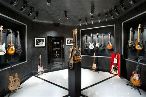 music house shop music room guitar display m 233 diterran 233 en salle de cin 233 ma phoenix par desert star