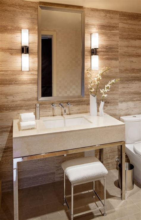 bathroom wall lighting ideas vertical fixtures or sconces mounted on either side of the