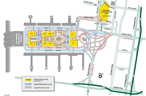 map los angeles lax airlines impacted at los angeles international airport by