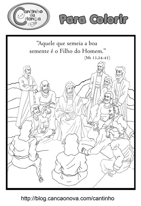 Evangelho para colorir » Sentinelas