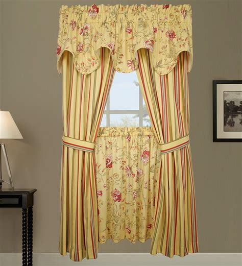 swag shower curtains with valance curtains and valances casual cottage