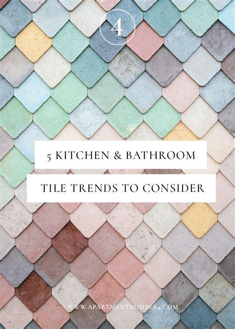 tile trends 2017 5 kitchen bathroom tile trends for 2017 apartment number 4