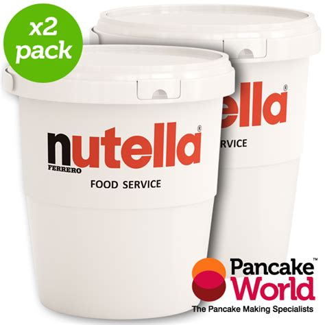 Nutella Food Service Catering Tub   3kg   Pancake Worl