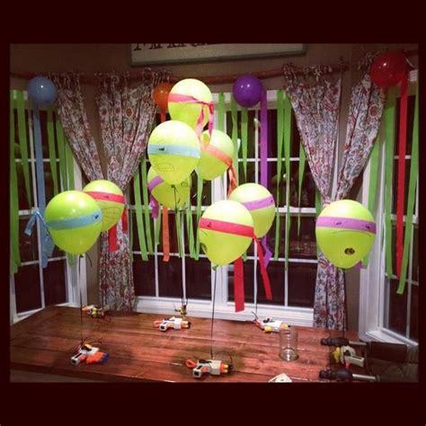 Turtle Decoration Ideas by Turtle Birthday Decoration Mutant