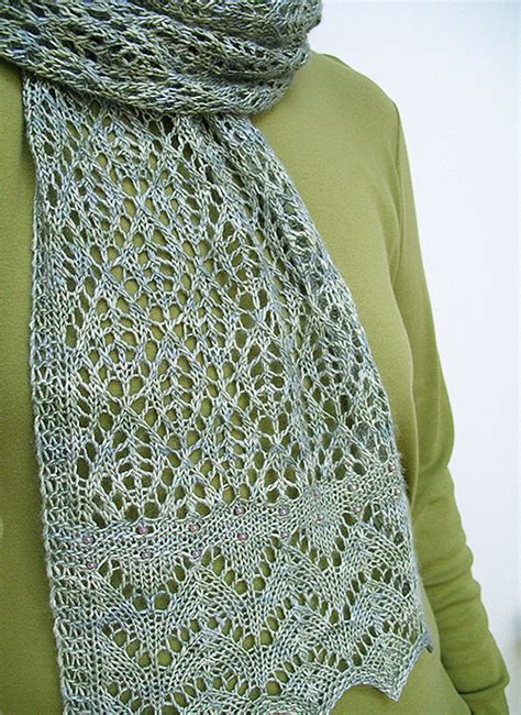 knitting pattern scarf free lacy scarf knitting patterns in the loop knitting