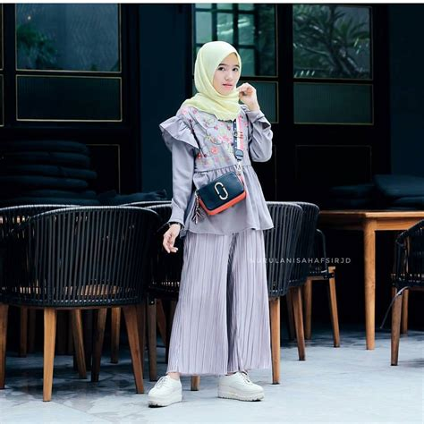 Baju Busana Muslim Modern 18 trend baju muslim 2018 untuk remaja gaya modis simple