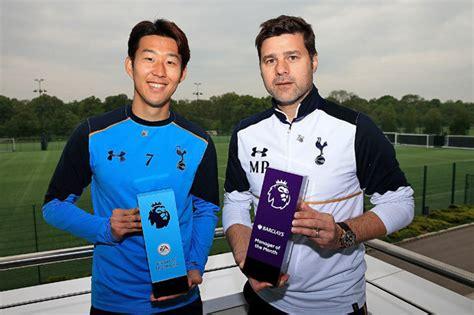 At Sons League by Premier League Tottenham Mauricio Pochettino Named