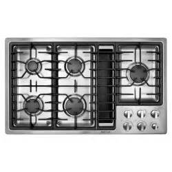 5 Burner Gas Cooktop With Downdraft Jenn Air Jgd3536ws 36 Quot Gas Downdraft Cooktop Sears