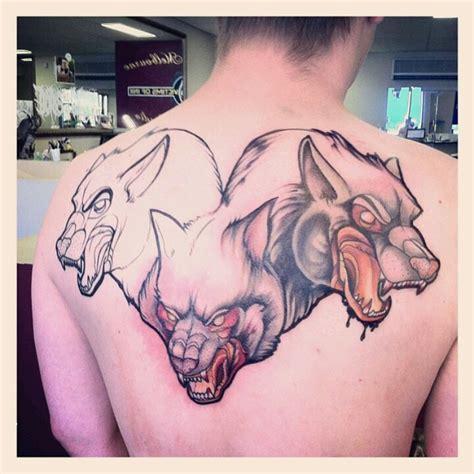 hellhound tattoo hell hound fabel ink