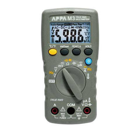 Digital Multimeter Appa appa m series multimeters appa m3 appa technology